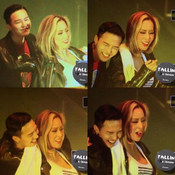 G-Dragon mải hát quên mất phải nhảy với nữ vũ công