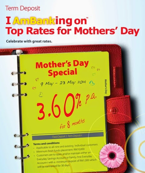 AmBank Mother's Day Special FD Campaign