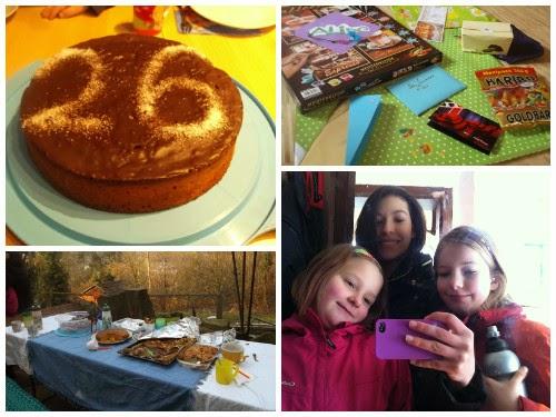 Aniversário na Alemanha (Foto: Aline Lima)