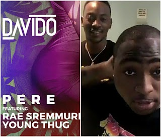 Davido Bought Off His New Single, 'Pere' ft Young Thug and Rae Sremmund From… (See Details + Photos)