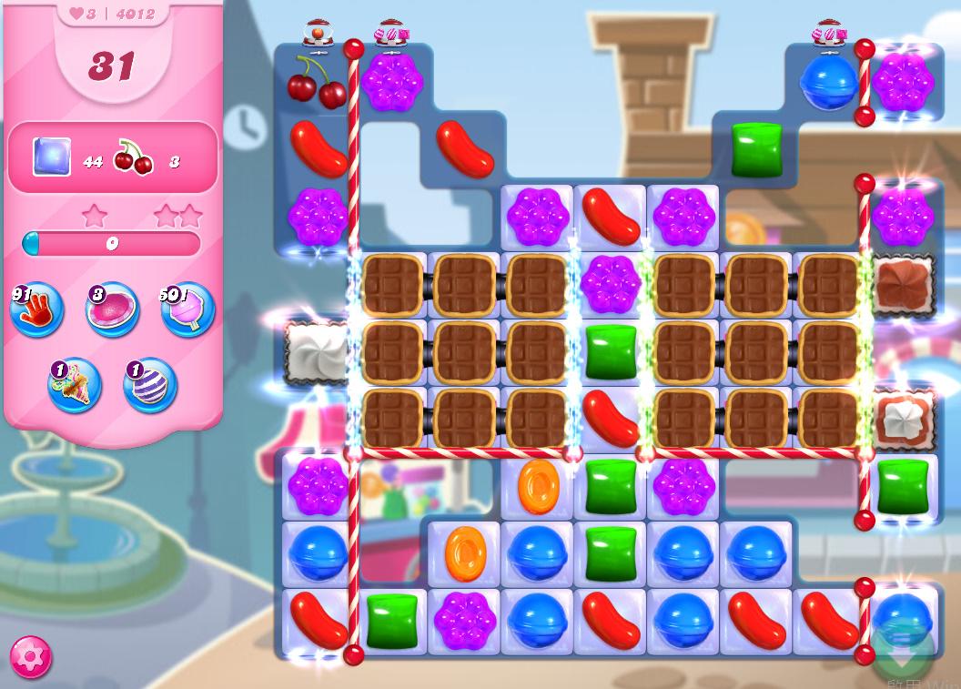 Candy Crush Saga level 4012