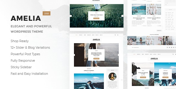 Free Blog & Magazine WordPress Theme