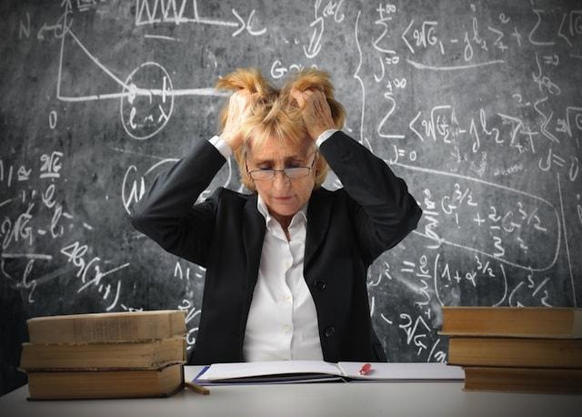 Comment diminuer le stress des enseignants - point d'angoisse, pas d'anxiété ou de phobie scolaire.