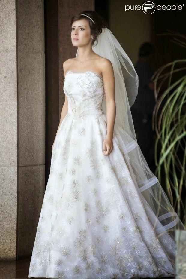 Vestido de noiva Maria Clara em Império