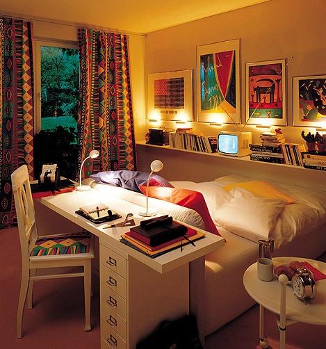 College Apartment Bedroom Designs Small Bedroom Bed Designs Leather Bed Bedroom Ideas Kids Bedroom Interior Design Small Rooms: 55 Ideias Para Quartos Pequenos