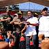 Temui Massa di Aksi Buruh, Pakde Karwo Bicara Mengenai Upah