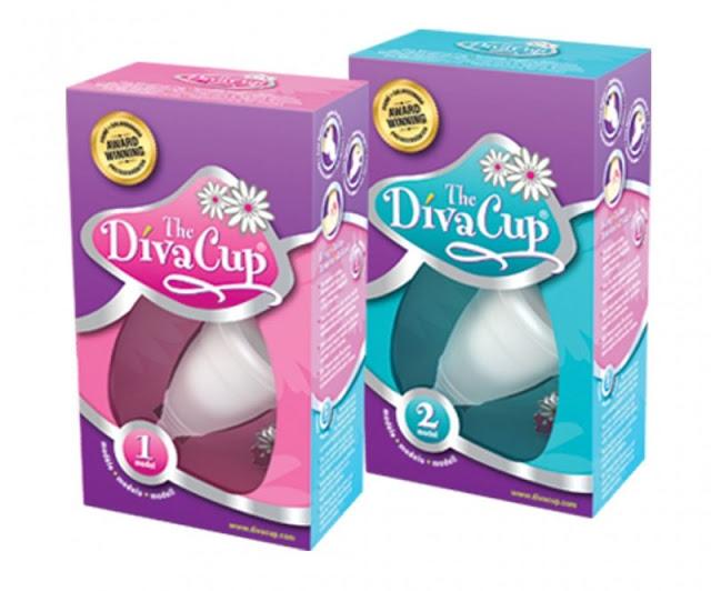 Copas menstruales DivaCup