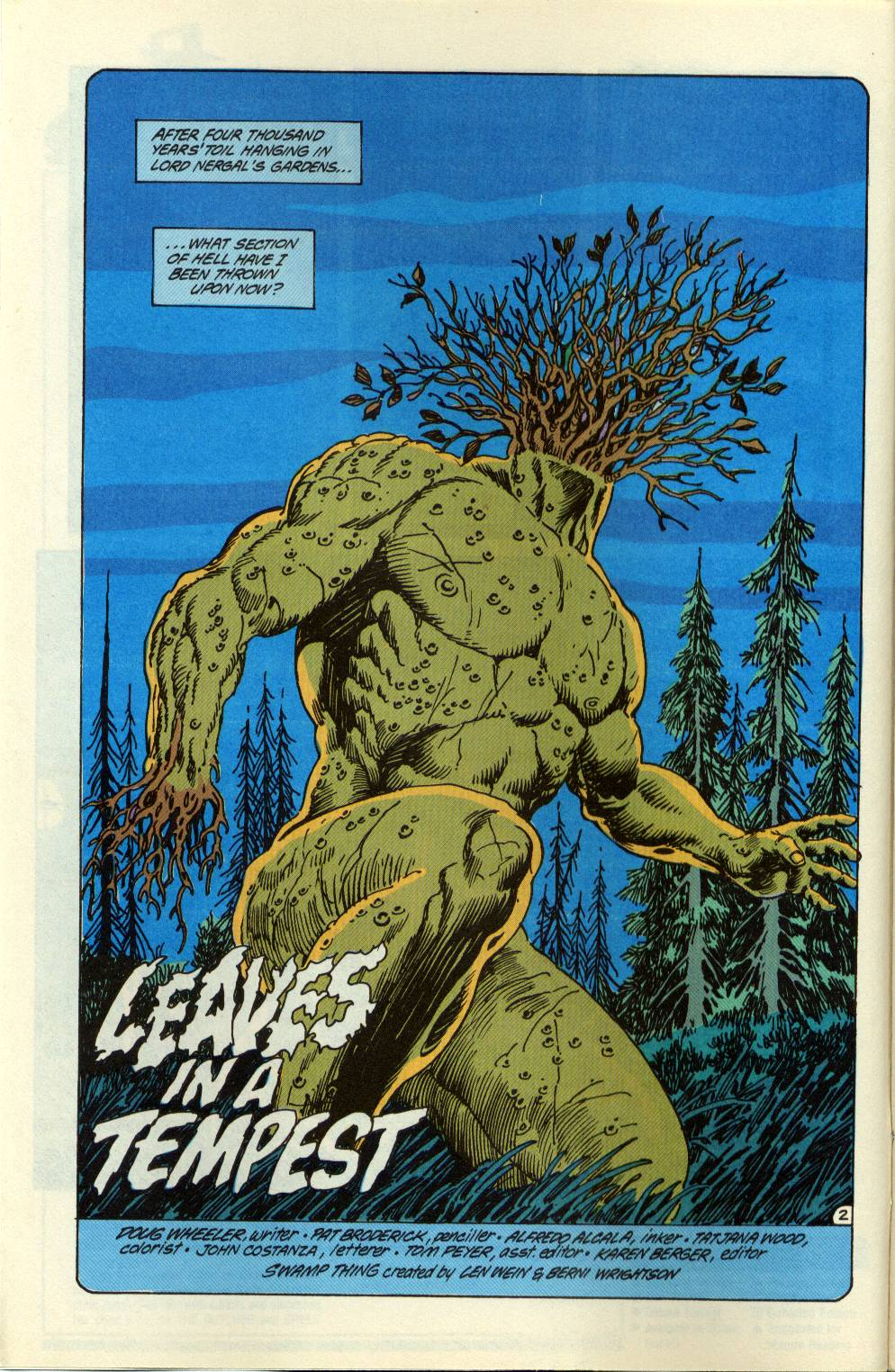 Swamp Thing (1982) Issue #99 #107 - English 3
