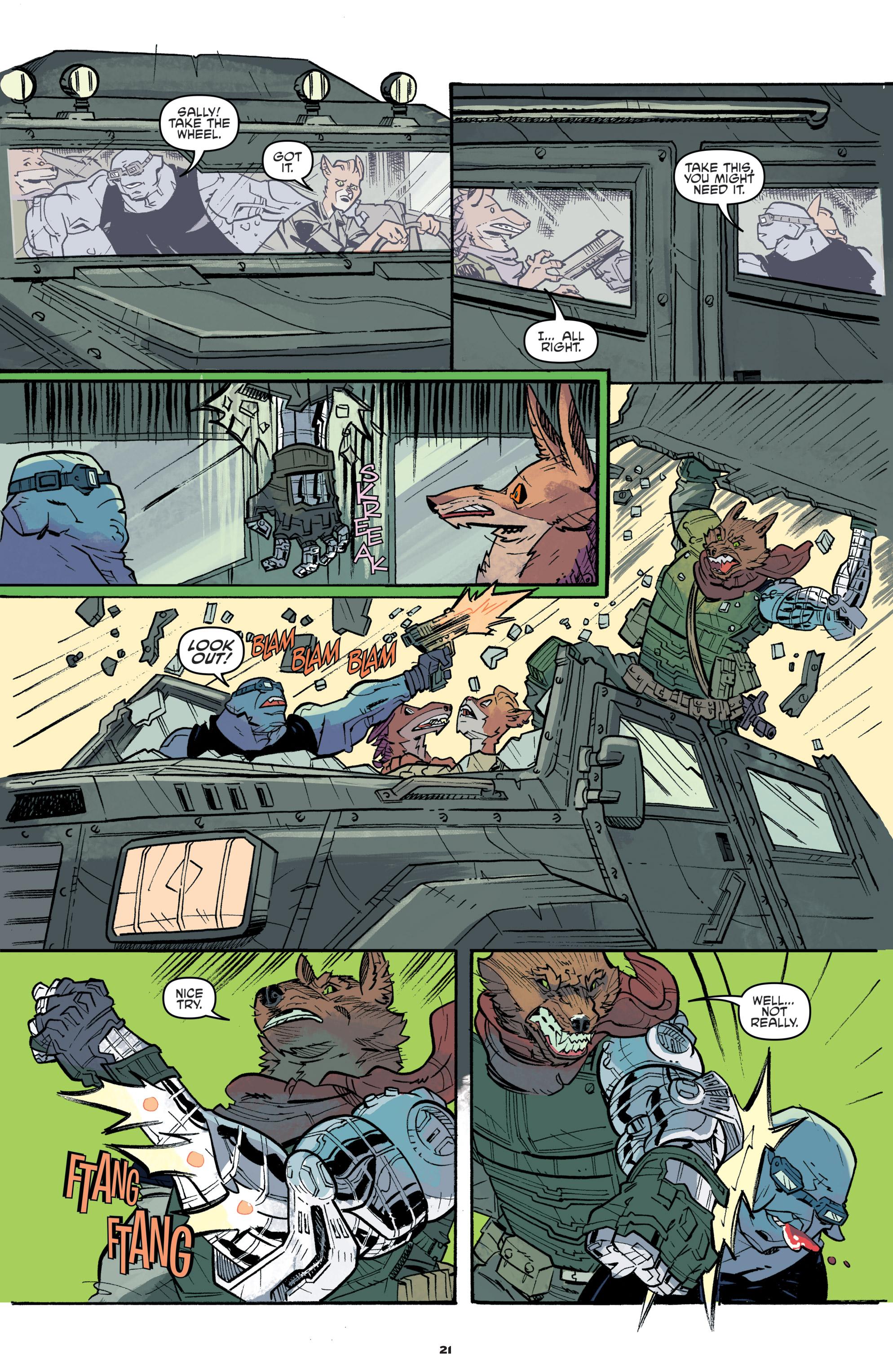 Read online Teenage Mutant Ninja Turtles Universe comic -  Issue #11 - 23