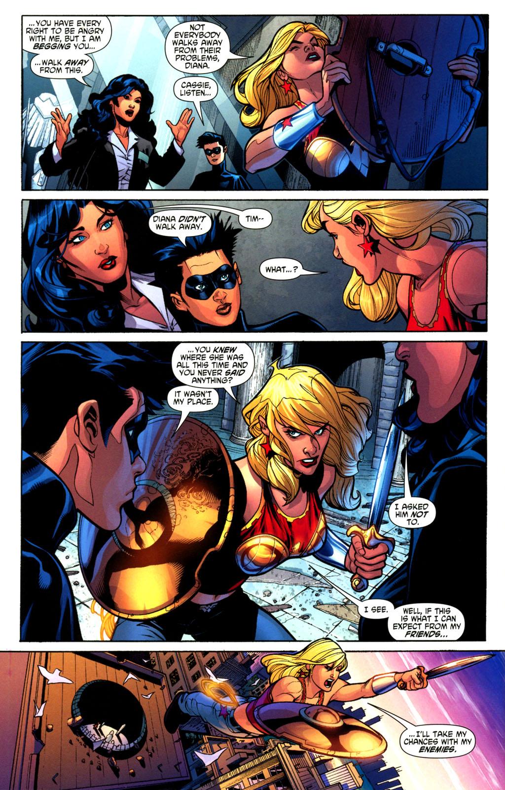 Read online Wonder Woman (2006) comic -  Issue #2 - 12