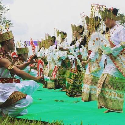 Foto Tari Melinting Lampung