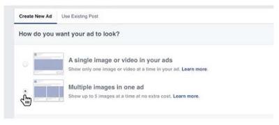 Cara Membuat Facebook Carousel Konten