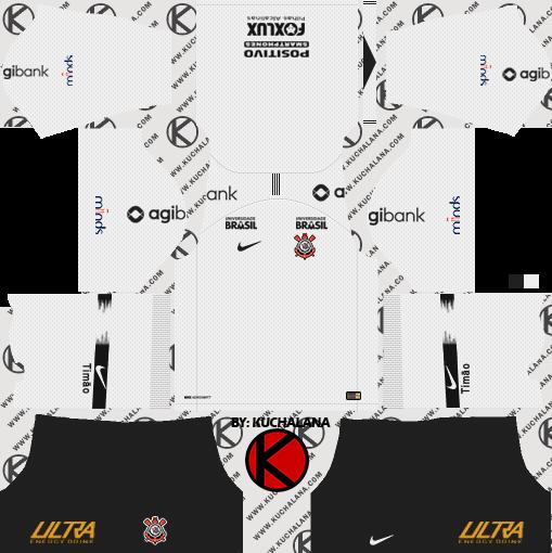 Corinthians 201819 Kit Dream League Soccer Kits Kuchalana