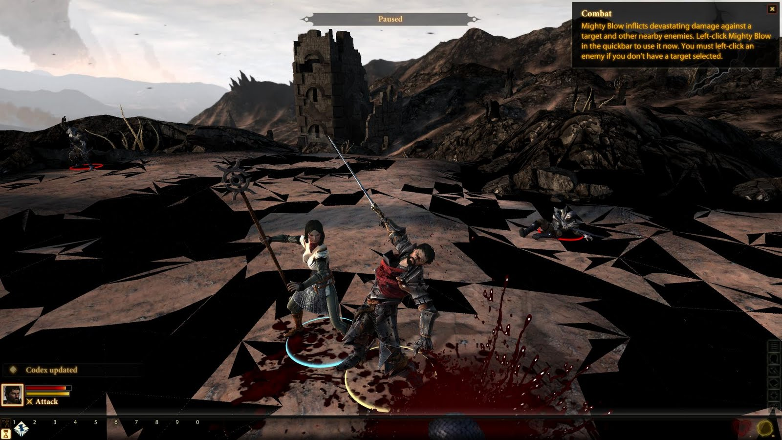Here and There with Edison: Dragon Age 2 Review
