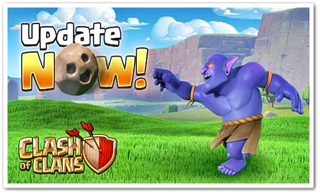 Download Game Clash Of Clans v8.212.3 Update 21 Maret 2016
