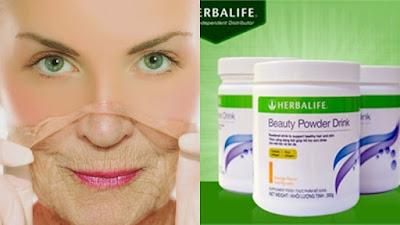 Collagen Herbalife hỗ trợ ngăn chặn tình trạng lão hóa da sớm hơn