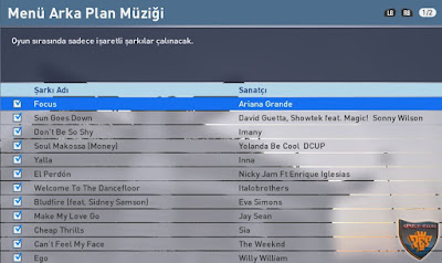 Pes 2016 Menu Music Vol 1. by onur123