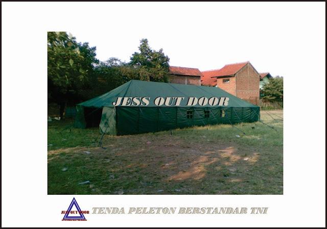 Pabrik Tenda TNI, Tempat, Produksi, Pembuat Tenda Pleton