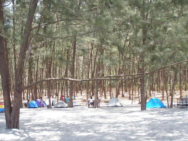Camp Site Anawangin