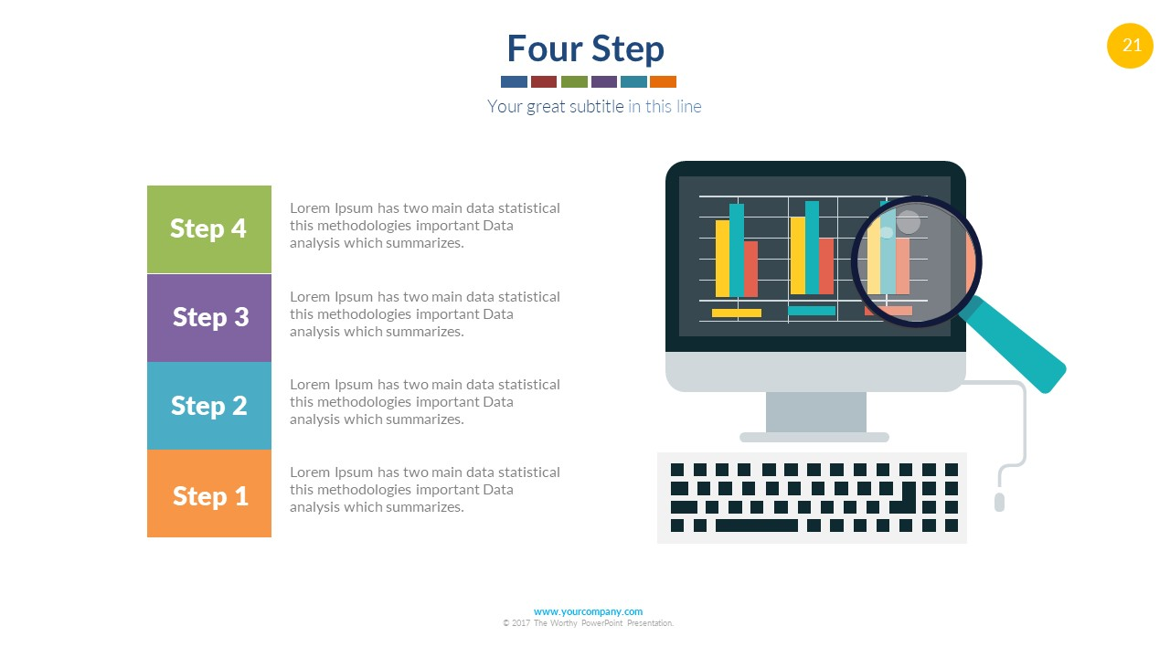 Infographics vector powerpoint free