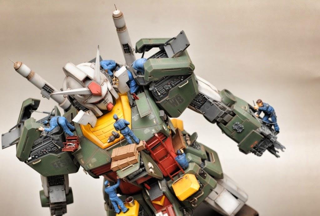 "Custom Build: Mega Size 1/48 RX-78-2 Gundam ""Post War"