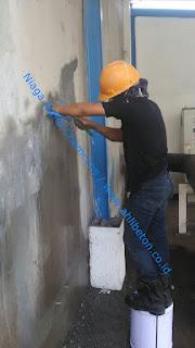 perbaikan kebocoran pada beton