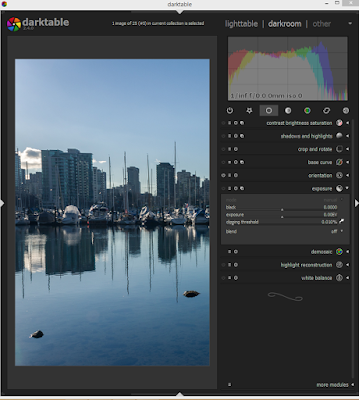 Photography software for Linux