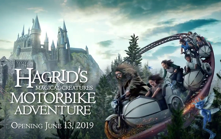 Hagrid Magical Creatures Motorbike Adventure