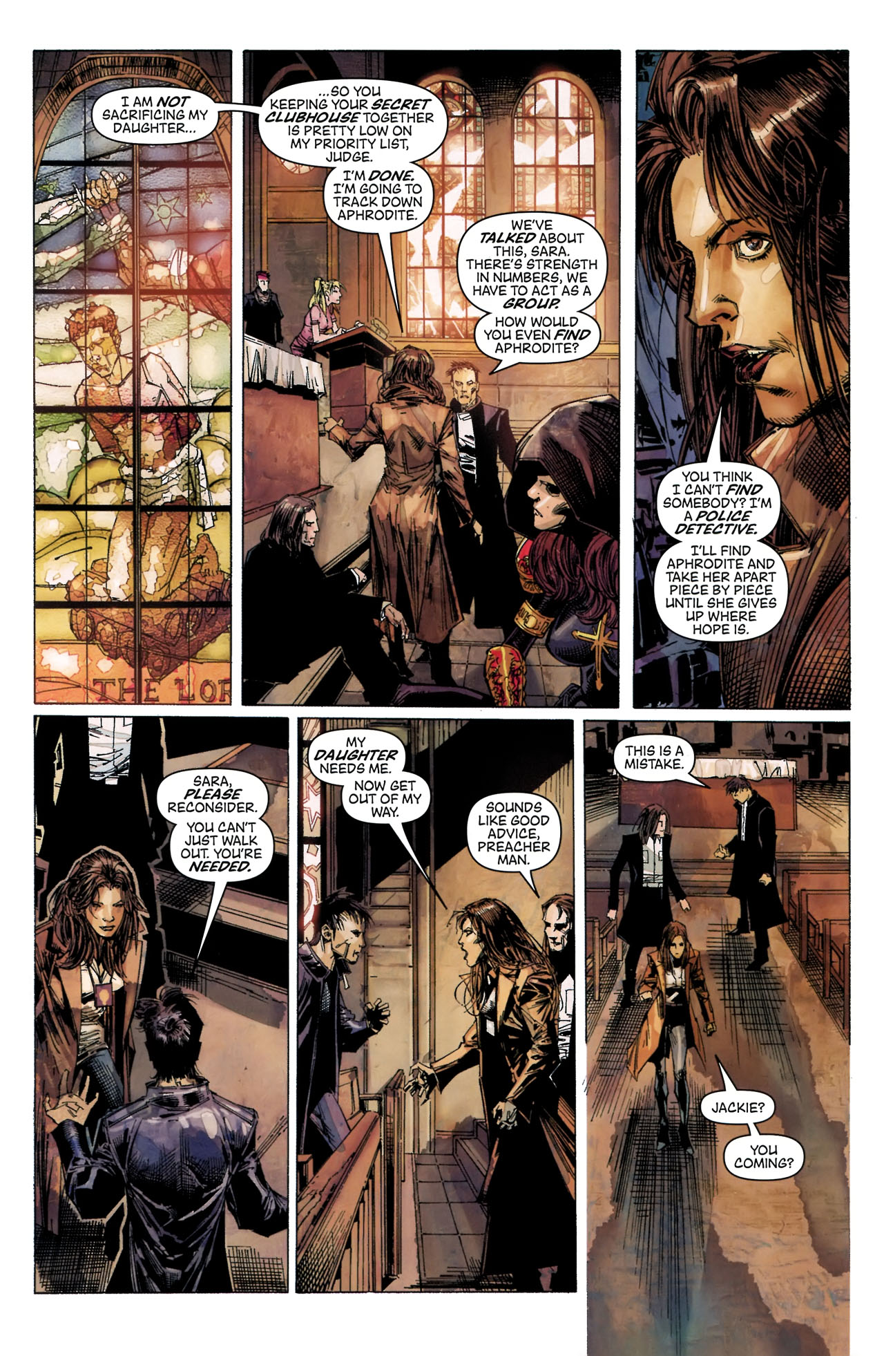 Read online Artifacts comic -  Issue #5 - 21