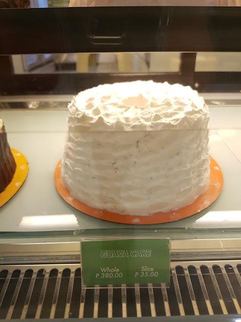 Leona's Bakeshop Guava Cake @P35.00 per slice