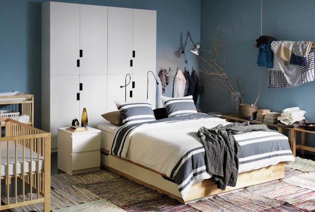 Cara Menghias Kamar Tidur dari IKEA