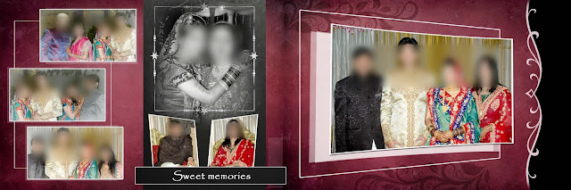 Wedding Album PSD Templates