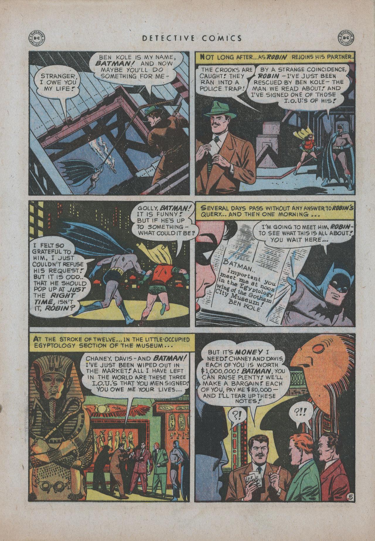 Detective Comics (1937) 151 Page 6