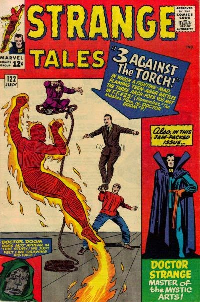 Strange Tales #122, the Human Torch