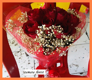 bunga buket mawar jakarta timur
