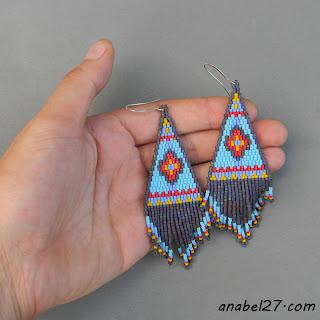 индейские сережки