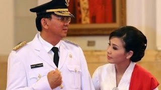Veronica Tan dan Ahok