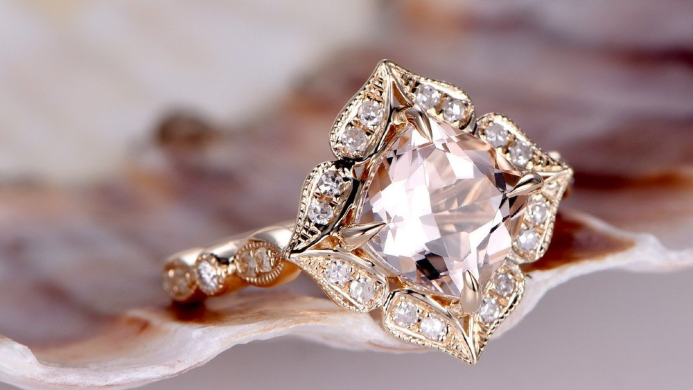 The Pastel Shades of Morganite, the Pink Beryl Cousin of Emerald