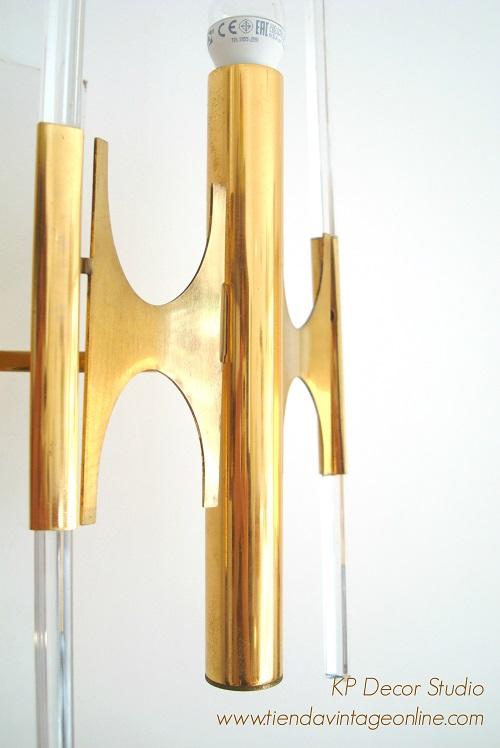 apliques de pared exclusivos estilo vintage. lámparas de autor italianas.