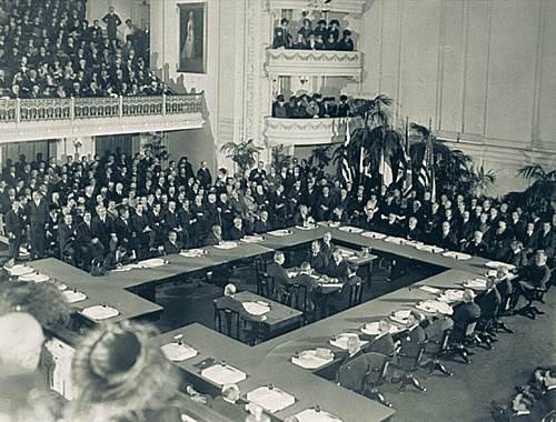 Konferenca e Paqes, Versaje