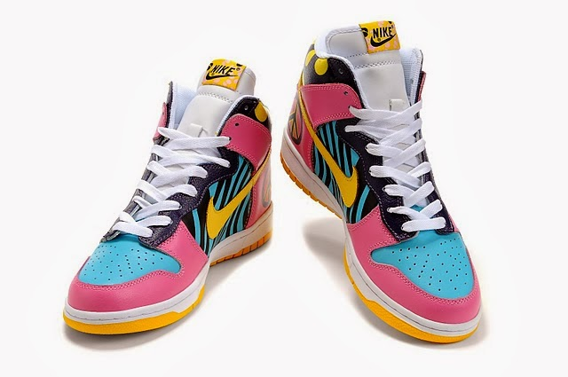 finest selection 2437c e54b1 ... pink cartoon shoes 7203c 033a2  new style the nike dunk funky town is  created by the custom themed funky town .