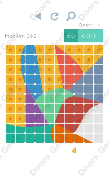 Cheats, Walkthrough for Blocks and Shapes Medium Level 282