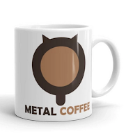 METAL COFFEE MUG