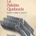 Martin Cerda: La palabra quebrada Ensayo sobre el ensayo