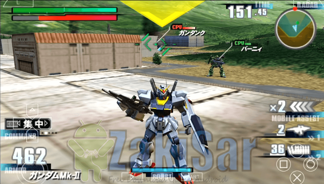 download game psp gundam cso