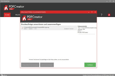 Screenshot PDFCreator 3.1.2.10844 Full Version