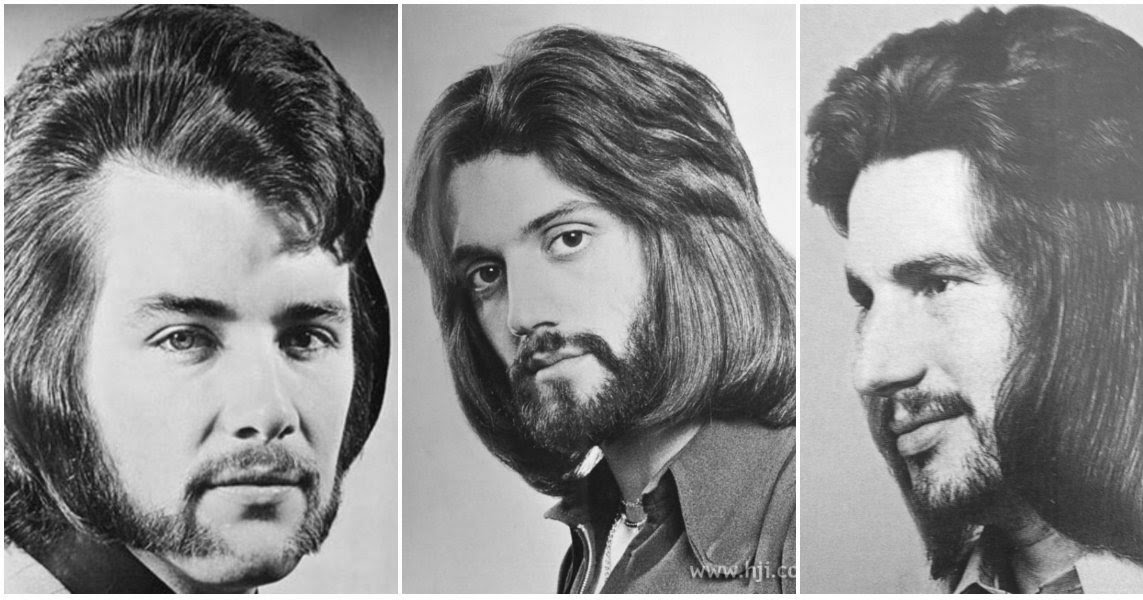 1970s The Most Romantic Period For Men S Hairstyles