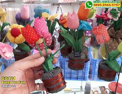 Bunga Pot Kain