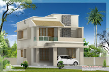 1770 Sq.feet Modern Villa With Construction Cost - Kerala