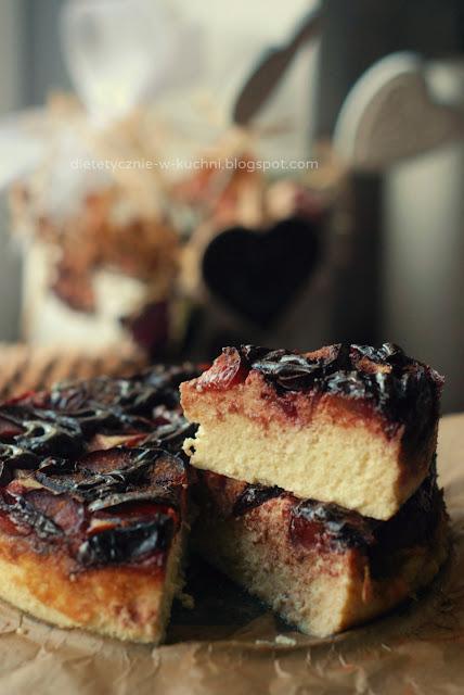 fit sernik z czekoladą